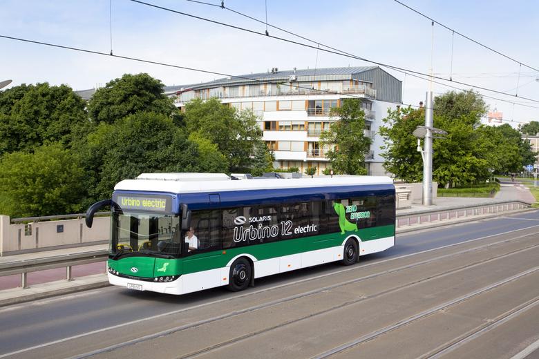 Linienbus mit E-Antrieb