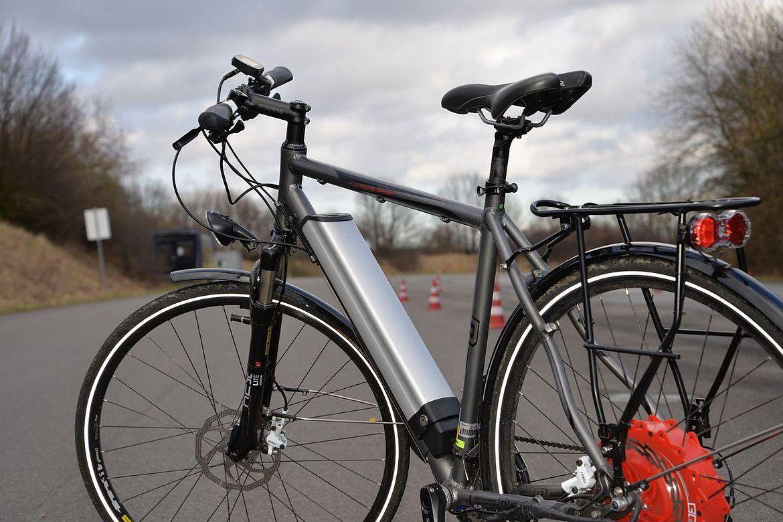 E-Fahrrad.