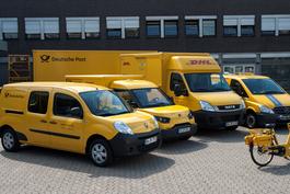 DHL Elektro-Flotte.