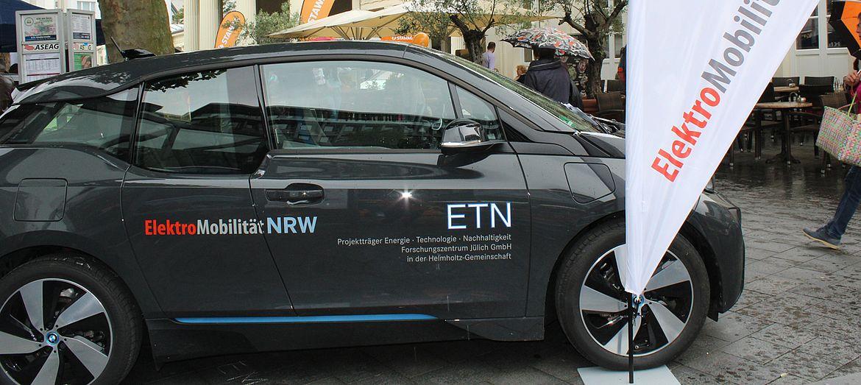 E-Auto von Elektromobilität NRW